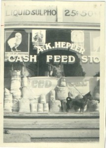 A.K. Hepler Cash Feed Store, Youngwood, PA, circa 1950