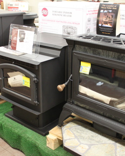 wood-burning stoves, Hepler's Hardware