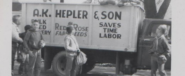 Photo: 1960s Delivery Truck A.K. Hepler & Son
